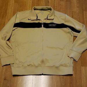 NIKE West Point Soccer zip up jacket XL